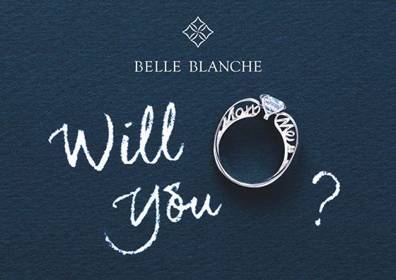 BELLE BLANCHE PROPOSE RING「Marry Me」